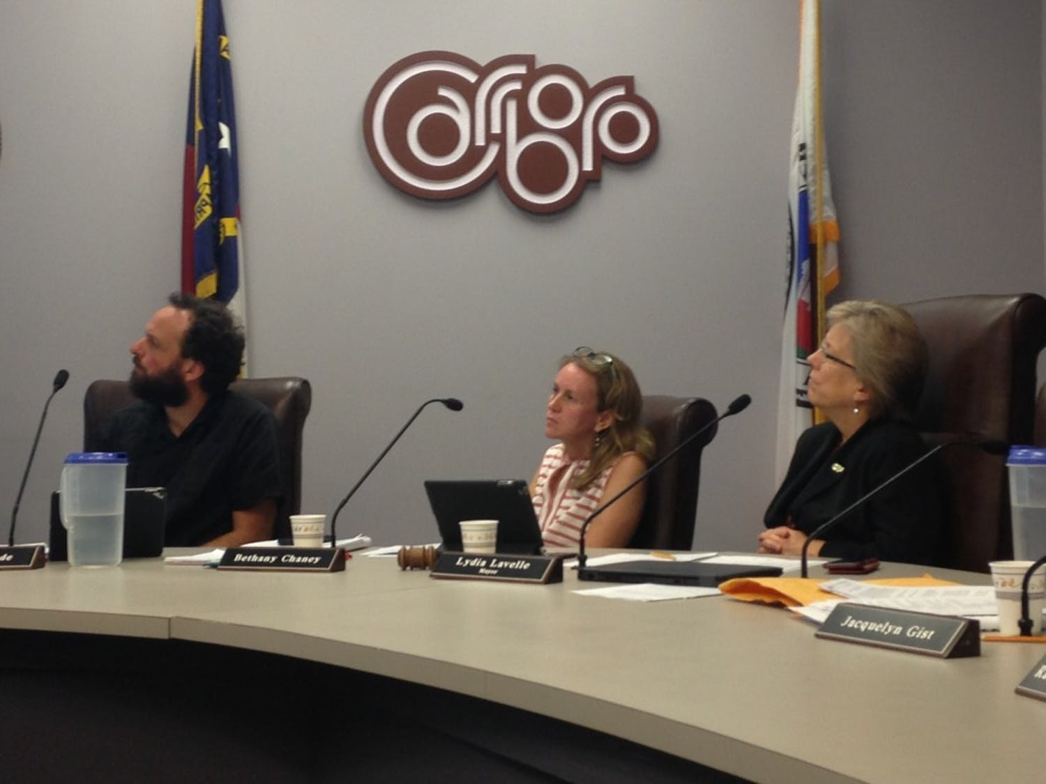 The Carrboro Board of Aldermen met on Sept. 5.