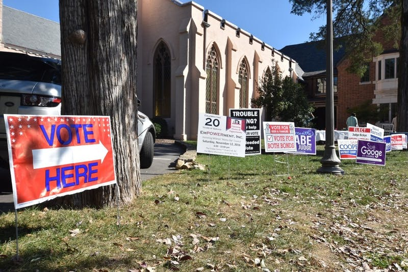 Chapel of the Cross offered early voting for the 2016 elections.