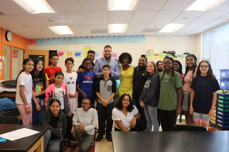 UNC alumnus Justin Lopez-Cardoze was voted the 2020 DC teacher of the year and used his award to create a scholarship. Photo courtesy of Justin Lopez-Cardoze.