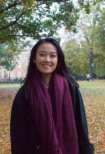 Jessie Huang is the president of the Asian Students Association.