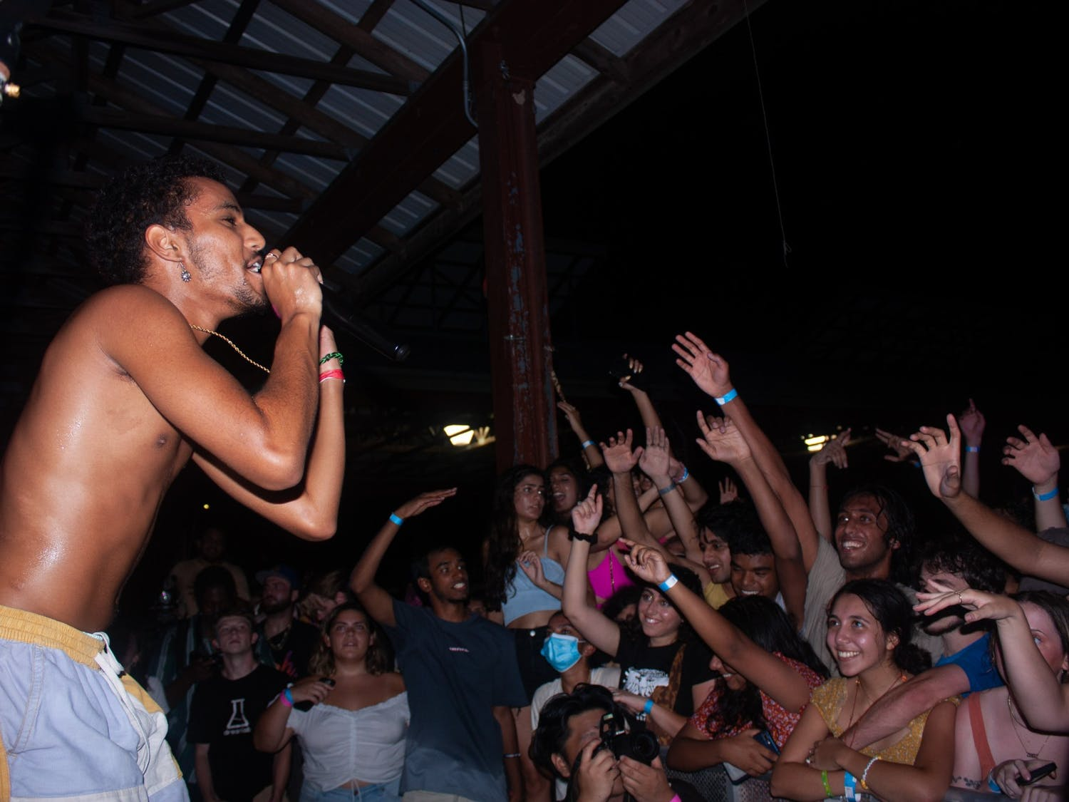 """""""{\""""blocks\"""":[{\""""key\"""":\""""eeh91\"""",\""""text\"""":\""""The Have U Heard Fest, held at Durham Central Park on Friday, Aug. 27, was a great success. Tickets to the festival were sold out two days prior to the festival\\u2019s opening. Have U Heard featured a variety of local artists and vendors, including students from UNC, N.C. State and Duke.\\nPerformers such as Ramsey the Fourth, Weston Estate and C19 made their debut at the festival. Lively maneuvers such as crowd surfing, spraying water and even throwing an entire sheet cake into the crowd kept audiences engaged. \"""",\""""type\"""":\""""unstyled\"""",\""""depth\"""":0,\""""inlineStyleRanges\"""":[],\""""entityRanges\"""":[],\""""data\"""":[]}],\""""entityMap\"""":[]}"""""""