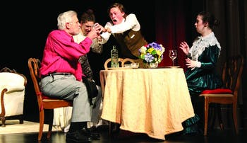 "Carolina Company's next production is ""Arsenic and Old Lace"", a tale of older ladies who poison their guests in order to ""save"" them from their miserable lives."