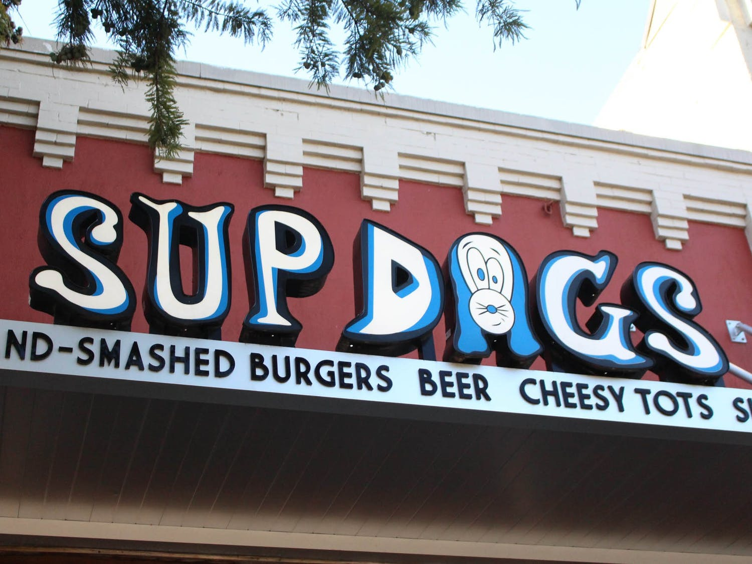 Sup Dogs on Franklin Street pictured on Sept. 23, 2021.