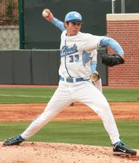 Sophomore Cody Stiles continued his winning ways, picking up his third win on the mound this season for UNC. Stiles pitched 6 2/3 innings and allowed only five hits and one earned run with seven strikeouts.