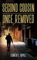 """<p>""""Second Cousin Once Removed"""" by UNC alumnus Dr. Kenneth Toppell is the first in what he hopes to be a series of chilling, sarcastic murder mysteries. Photo courtesy of Toppell.</p>"""