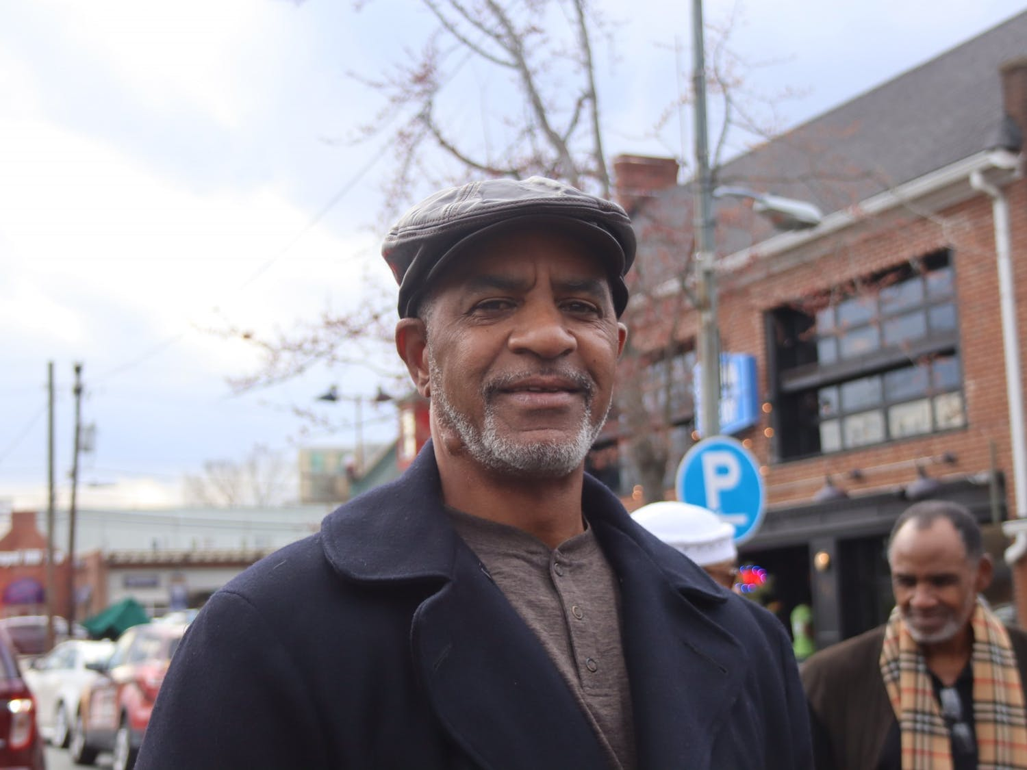 Michael Foushee is a Chapel Hill native who was 6 years old when the Chapel Hill Nine demonstrations began. He attended the group's marker dedication event on Friday, Feb. 28, 2020.