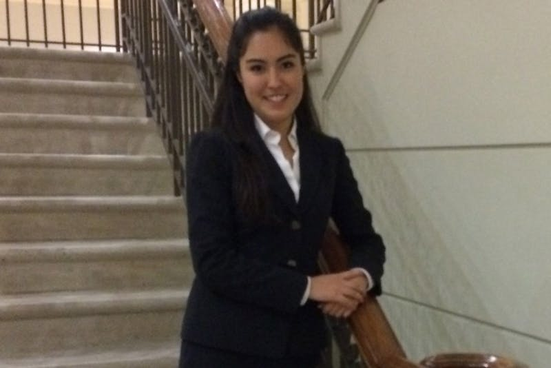 Raquel Dominguez, if approved by Student Congress, will be the UNC Honor Court's next Attorney General.