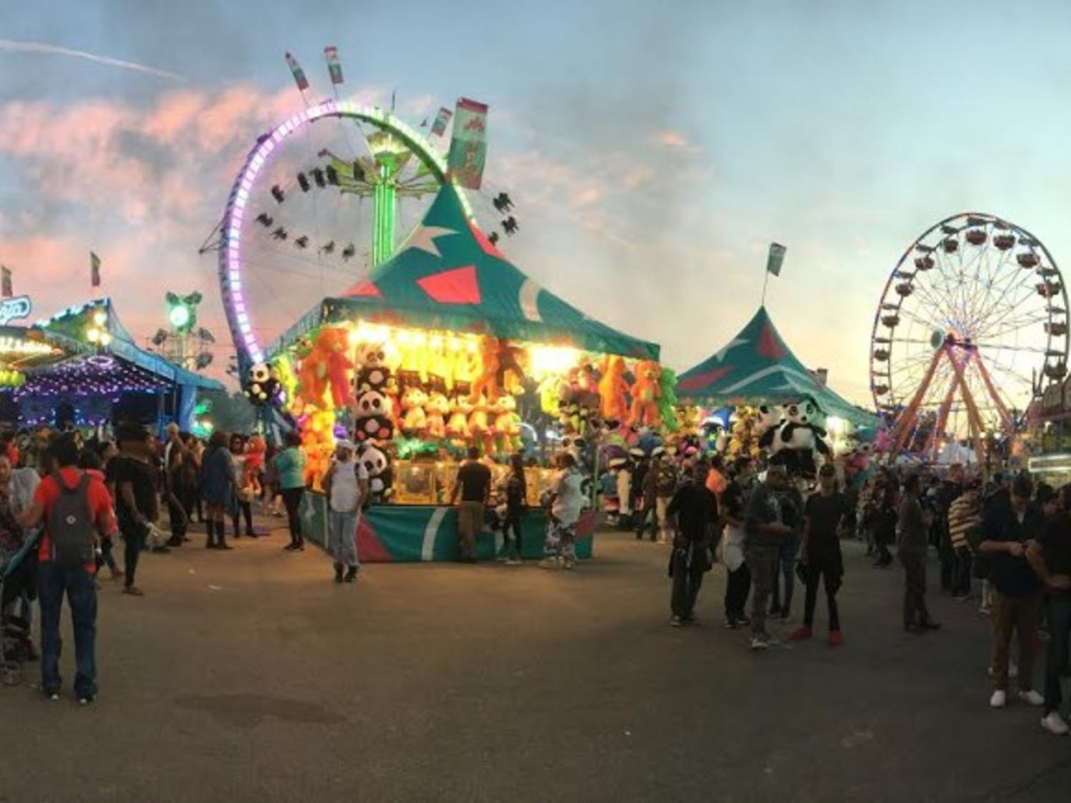 The NC State Fair is in Raleigh from October 13-23.