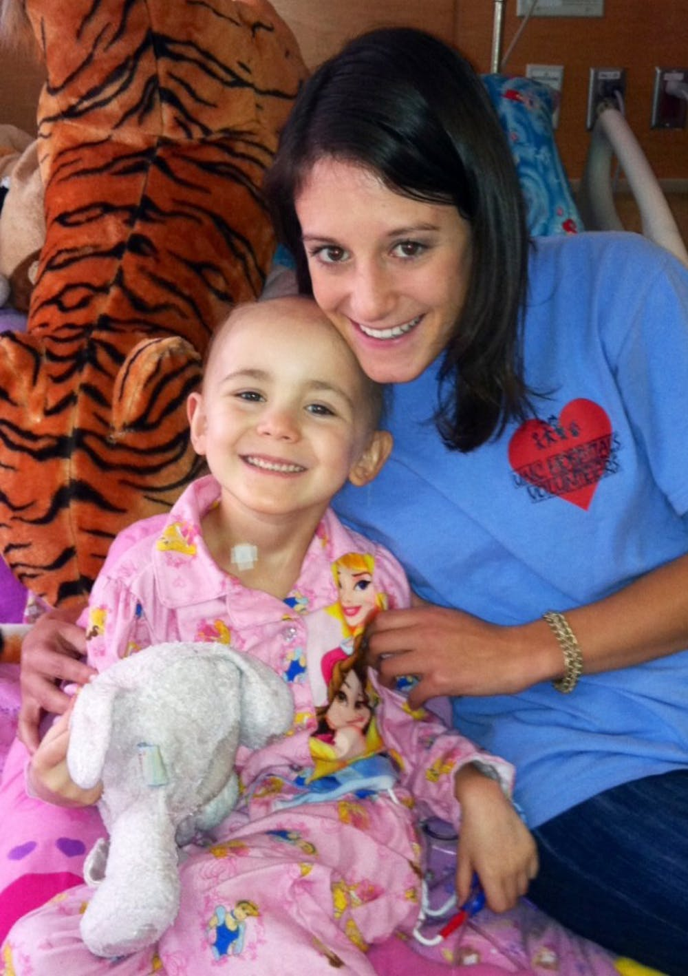 Volunteers pair with pediatric patients at N.C. Children's Hospital