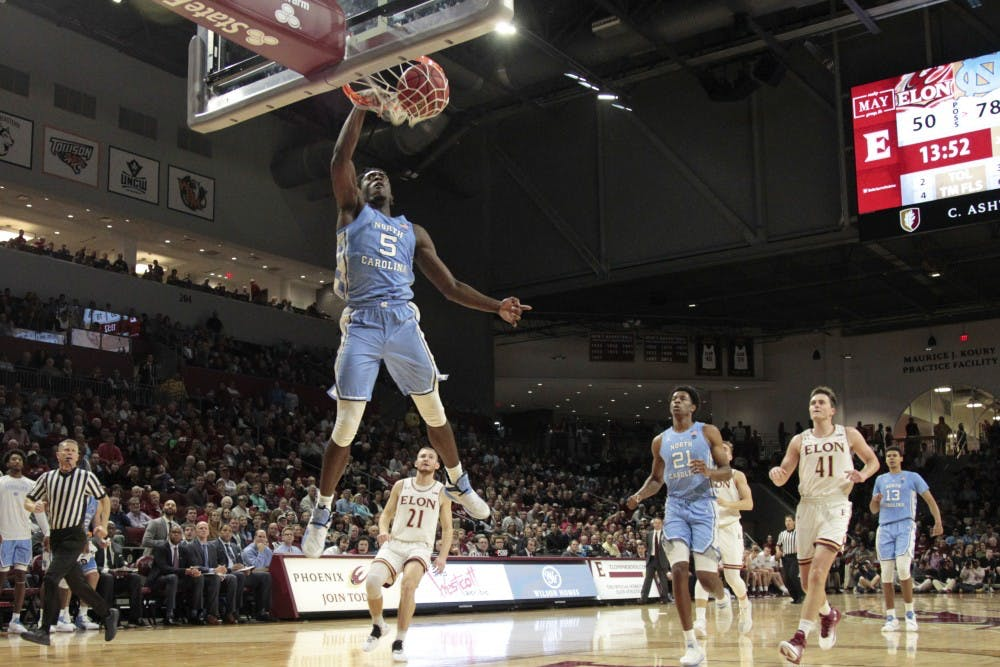 'He's freakishly strong': Nassir Little announces his arrival in win at Elon