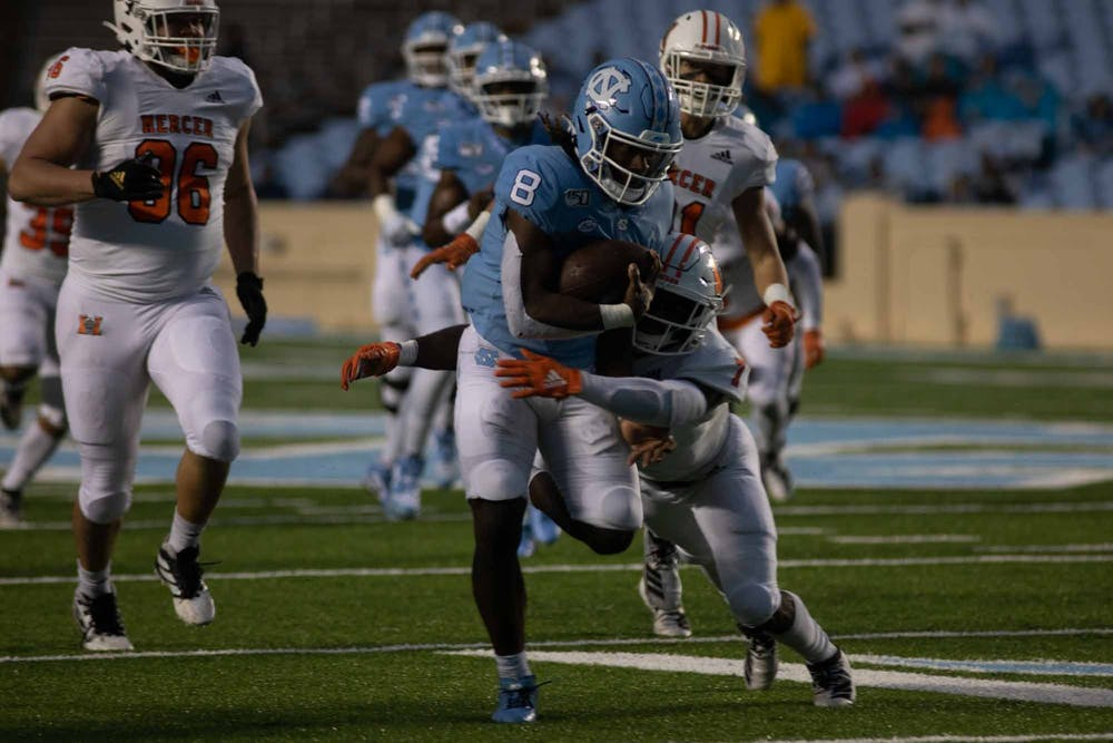 Dontavius Nash, seven other four-star football recruits to enroll early at UNC