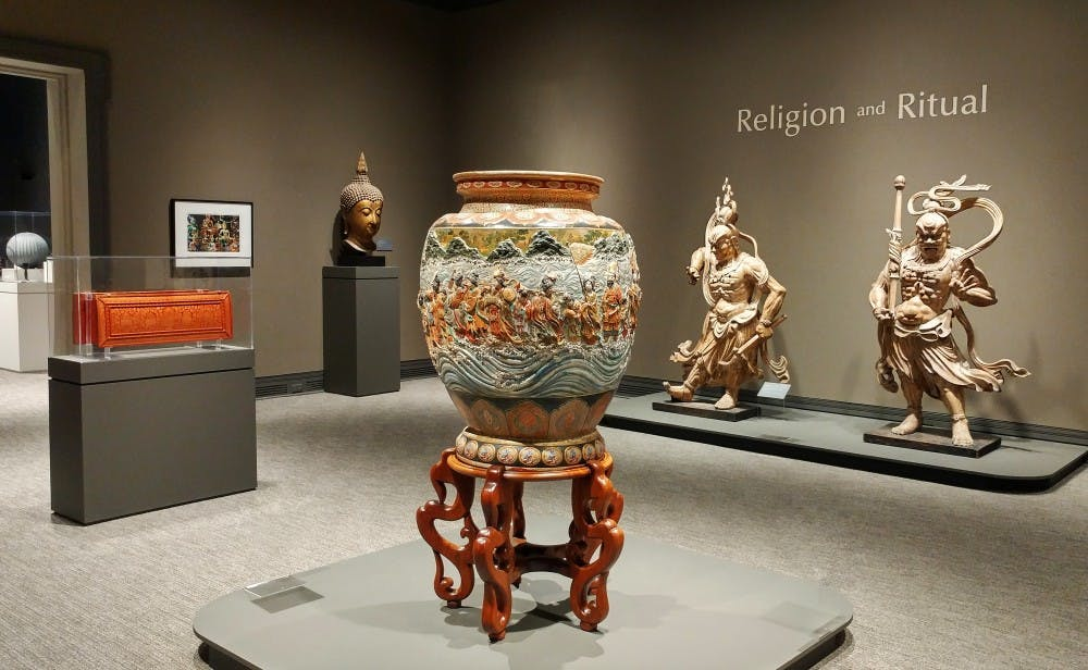 Ackland Art Museum's 'Religion and Ritual' showcases extensive collection of Asian art
