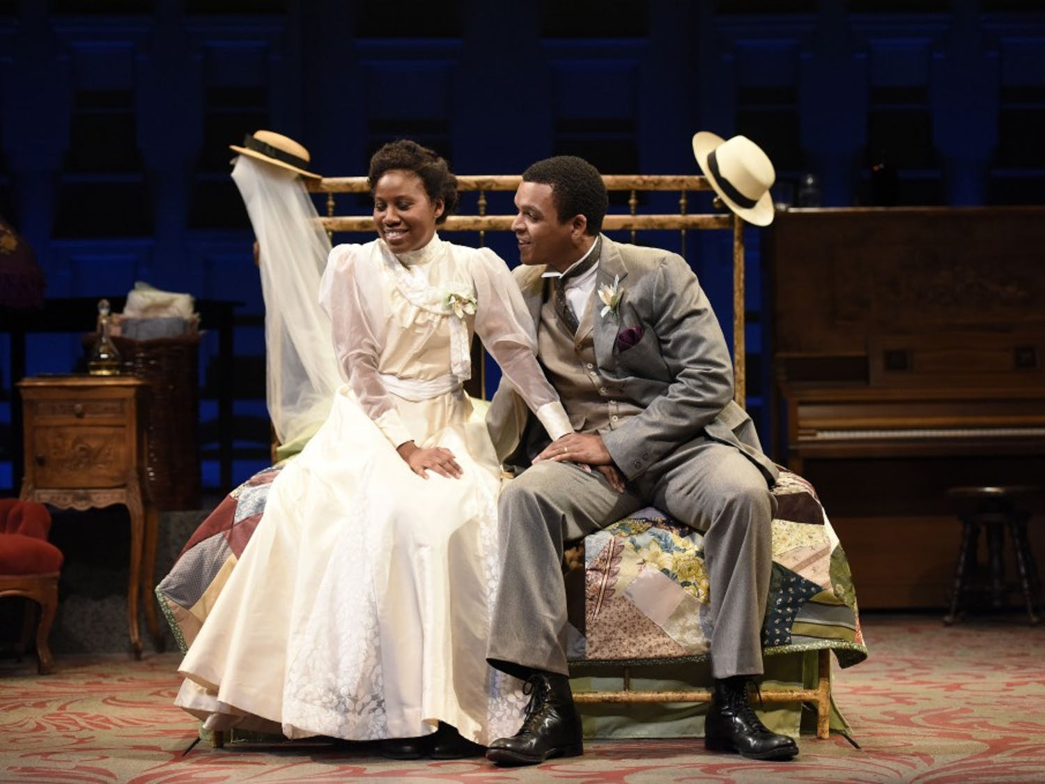PlayMakers Repertory Company production of Intimate Apparel.CREDIT:  Jon Gardiner