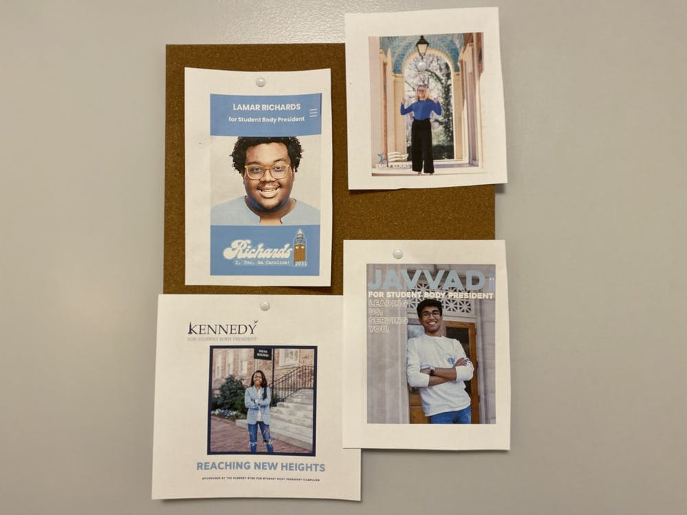 <p>Student body president elections are coming up on Tuesday, but this campaign season is working differently because of the pandemic.</p>