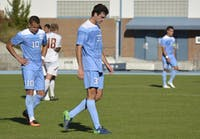 UNC Men's Soccer fell to Boston College on Sunday, Nov. 6, in the second round of the ACC tournament. The final score was 1-0.