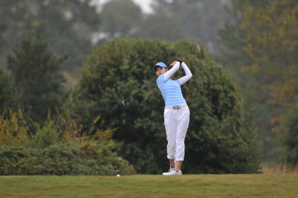 UNC women's golf ties for fourth in Moon Golf Invitational