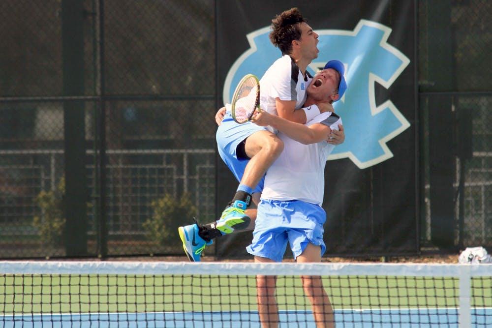 Seniors help clinch win over Duke