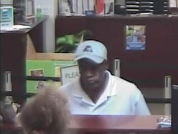 A suspect robbed the Elliott Road branch of the State Employee's Credit Union on July 5.