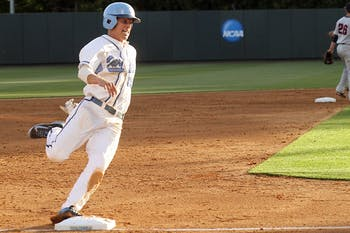 The North carolina Tar Heels faced the Liberty Flames on Wednesday Apr. 23 at Boshamer Stadiumn in Chapel Hill.