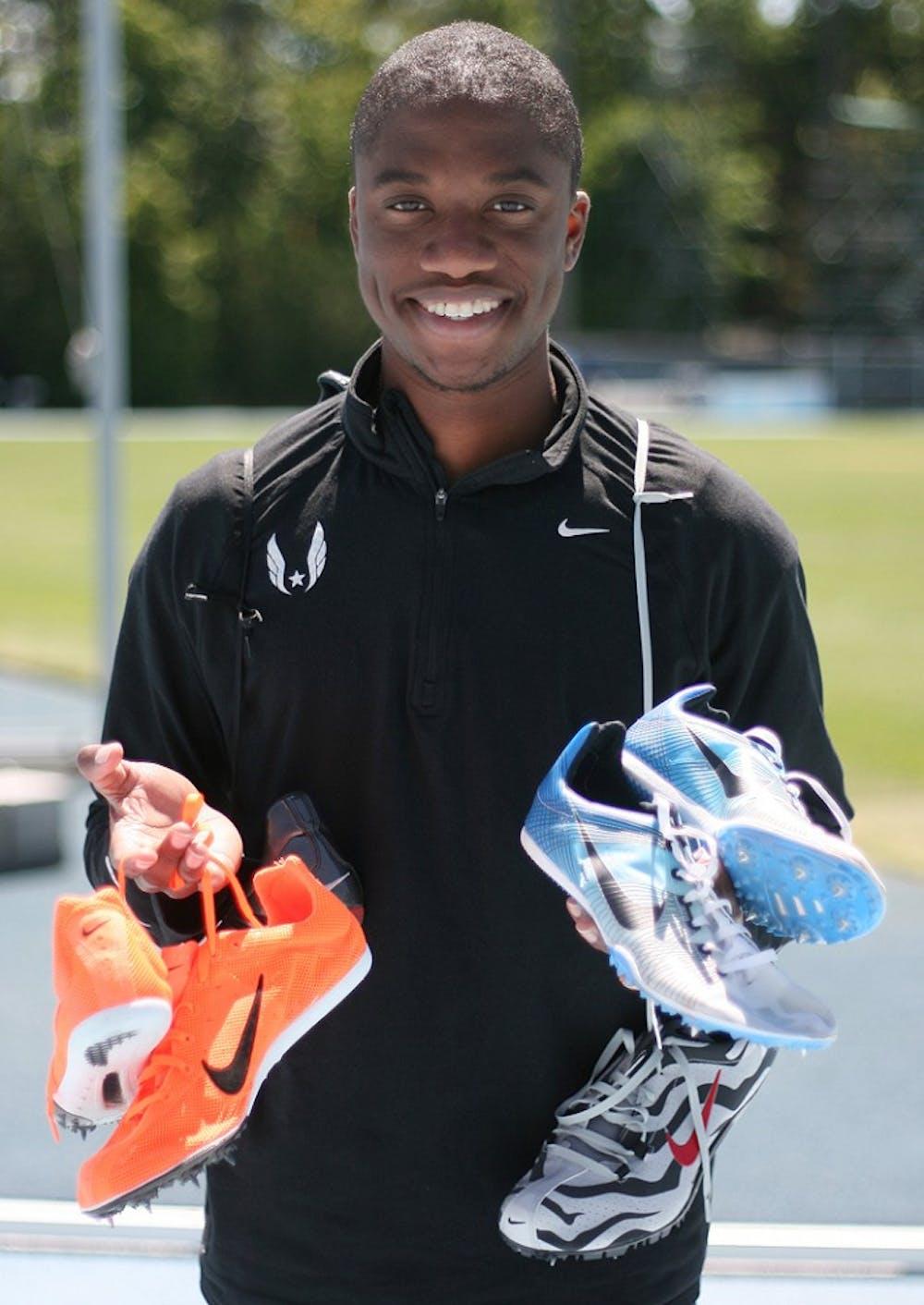 Freshman mid-distance runner O'Neal Wanliss starts non-profit, Spikes 4 Tykes