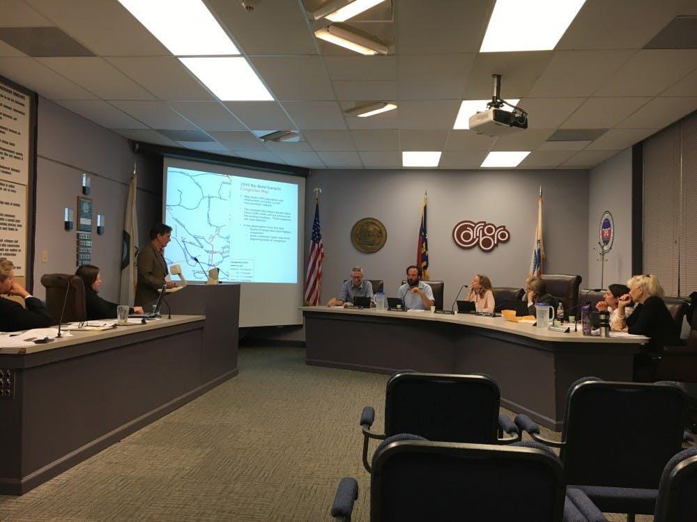 <p>The Carrboro Board of Aldermen met on Sept. 19.&nbsp;</p>