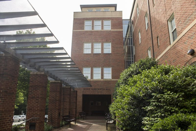 Horton Residence Hall is in Manning East Community on South Campus. The dorm was built in 2002 and holds 276 residents.