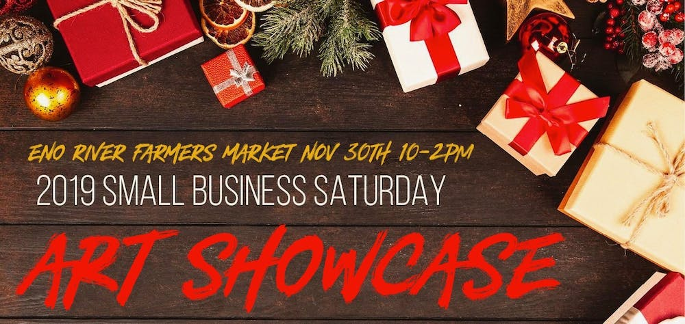 <p>The Eno River Farmers Market first annual Small Business Saturday art showcase will be on Nov. 30. Photo courtesy of Corly Jones.&nbsp;</p>