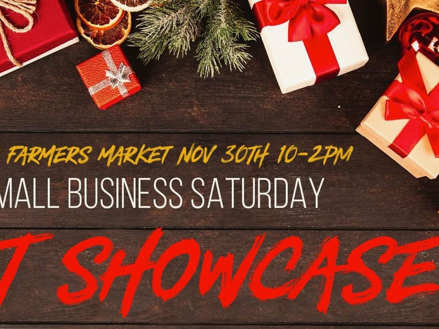 The Eno River Farmers Market first annual Small Business Saturday art showcase will be on Nov. 30. Photo courtesy of Corly Jones.