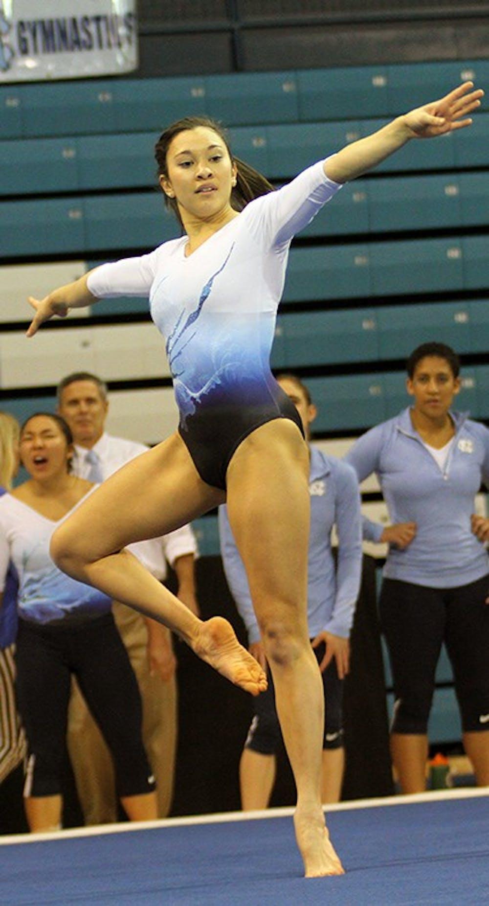 Aloi, Cosentino boost gymnastics team to win