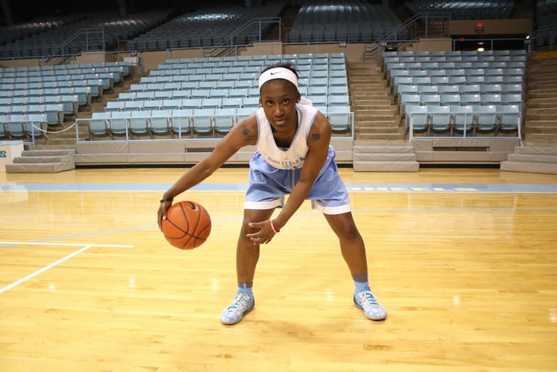 Sophomore guard Jamie Cherry (10) is ready to take the reigns of the Tar Heels' offense.
