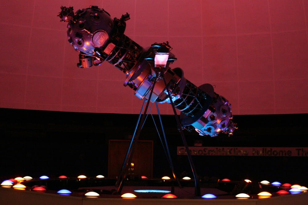 Morehead Planetarium phases in new digital projector system