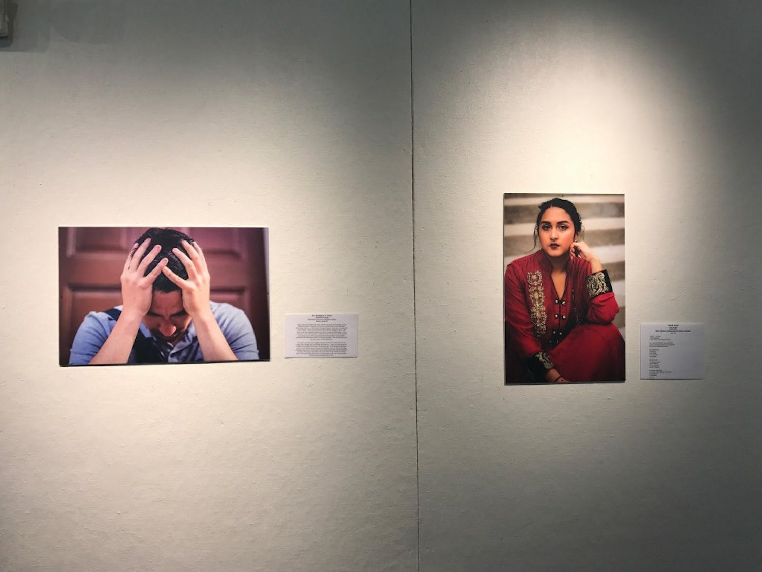 Danielle Nicholson graduated this year with a Bachelors Degree in Exercise and Sports Science and created this photo gallery so that people from different intersecting identities and marginalized groups can tell their stories.