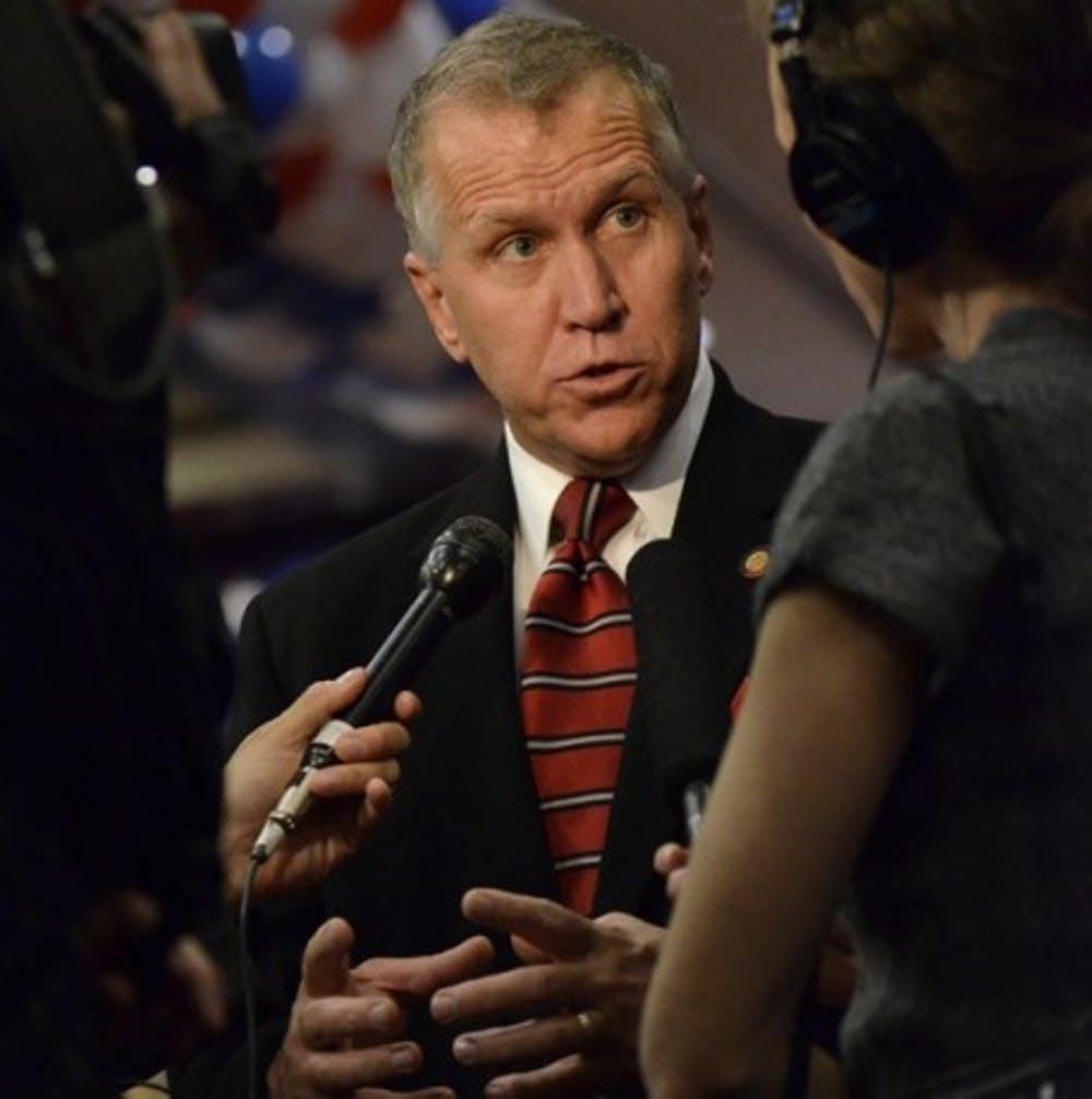 Column: Thom Tillis has never cared about his constituents