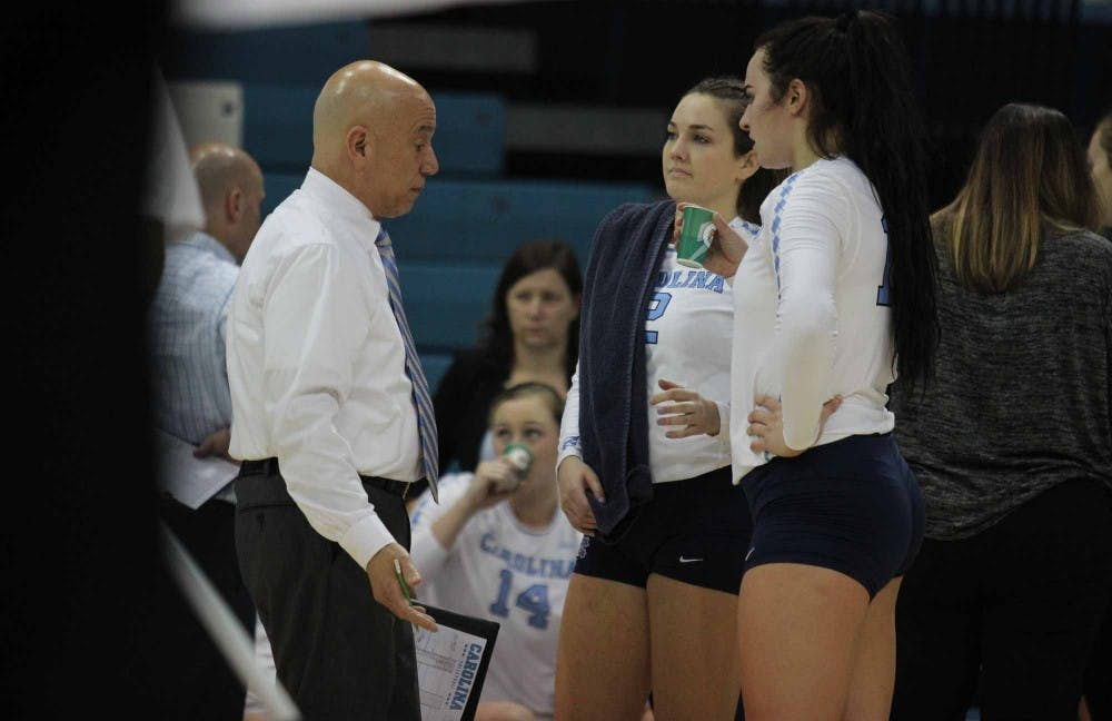 Seniors reflect on their careers after UNC volleyball's 3-0 loss to Florida State