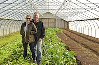 Jamie DeMent and Richard Holcomb own Coon Rock Farm in Hillsborough. They sell their products at their farm, at farmer's markets and now online.