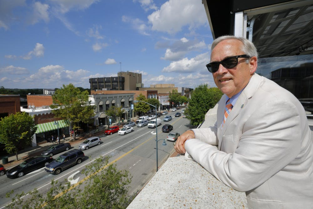 "The ""unflappable"" Roger Stancil says goodbye after a dozen years as town manager"