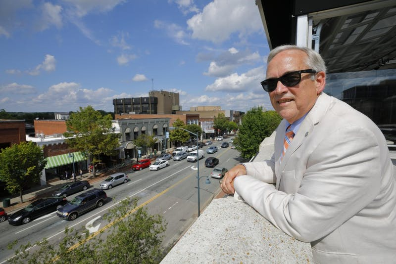 Roger Stancil has been Chapel Hill's town manager for 12 years. Photo courtesy of Stancil.