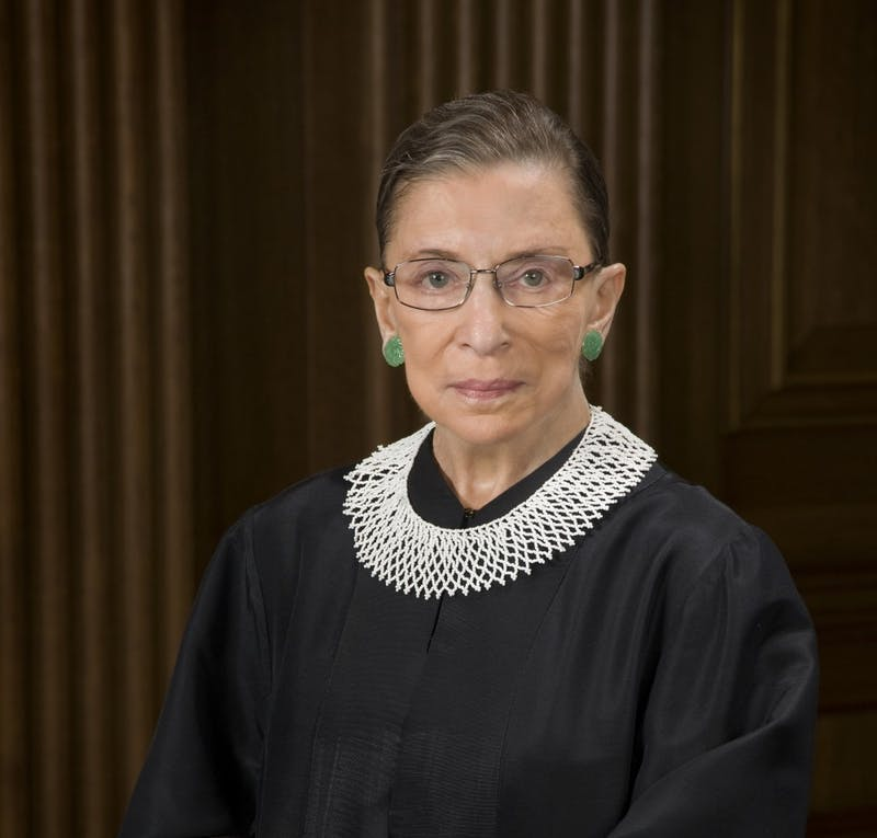 Supreme Court Justice Ruth Bader Ginsburg. Photo courtesy of The Collection of the Supreme Court of the United States/MCT.