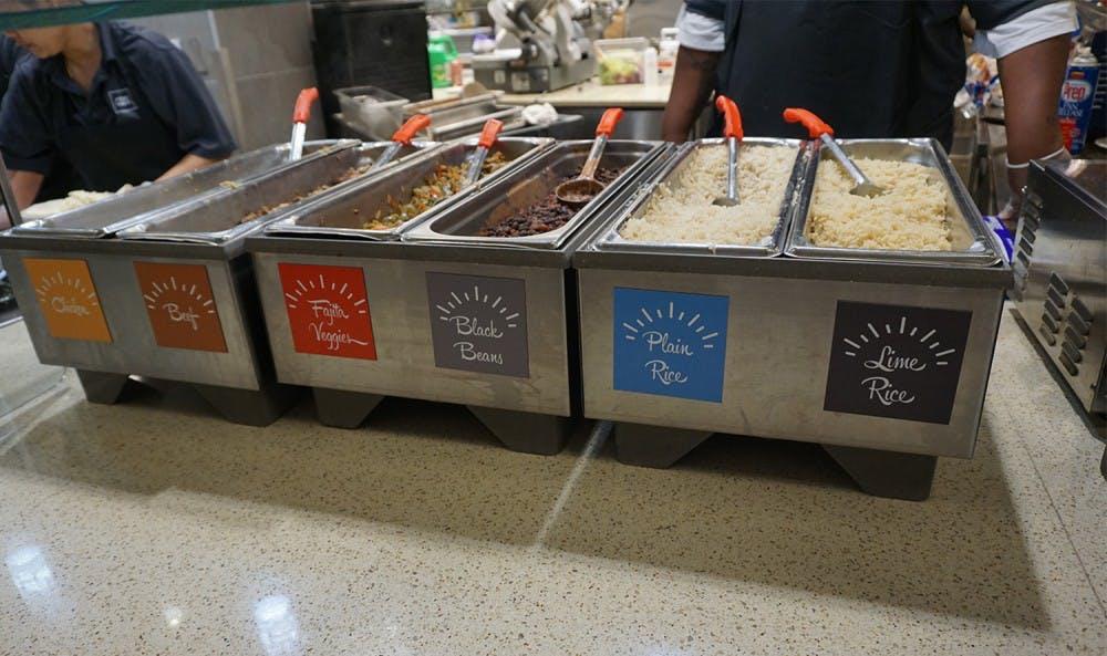 CDS brings burritos, wok station to Lenoir and Rams