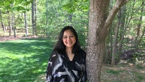 Renuka Soll is a candidate for Chapel Hill Town Council. Photo courtesy of Renuka Soll.