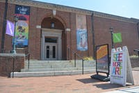Ackland Art Museum off Franklin Street.