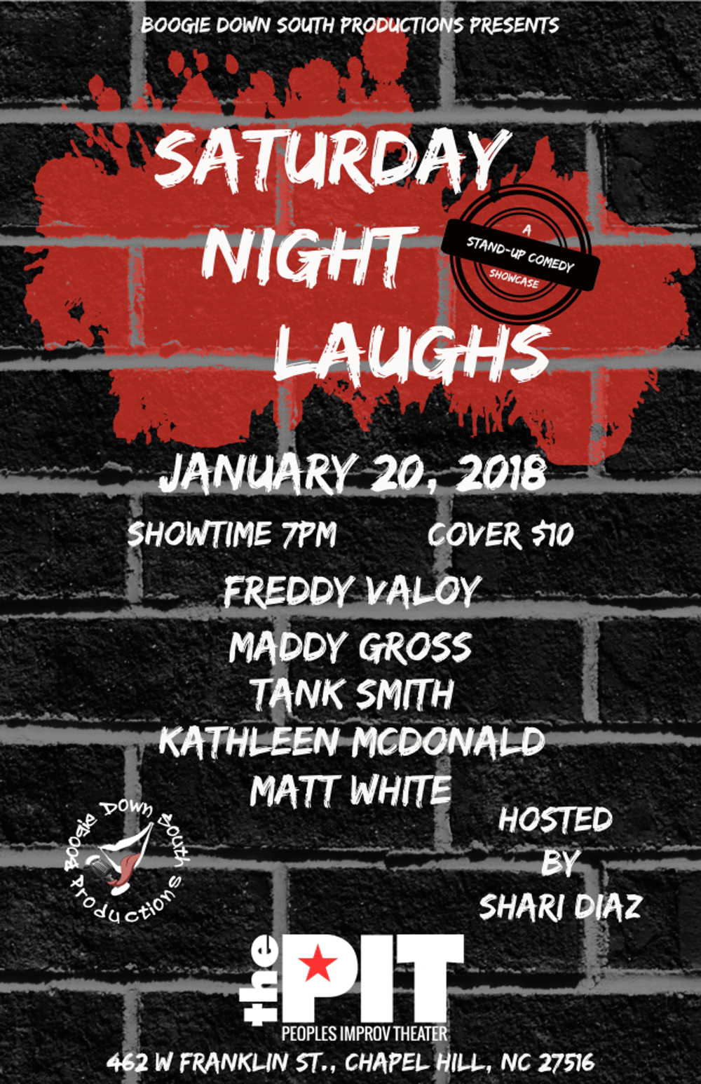 Boogie down and laugh out loud at Saturday Night Laughs