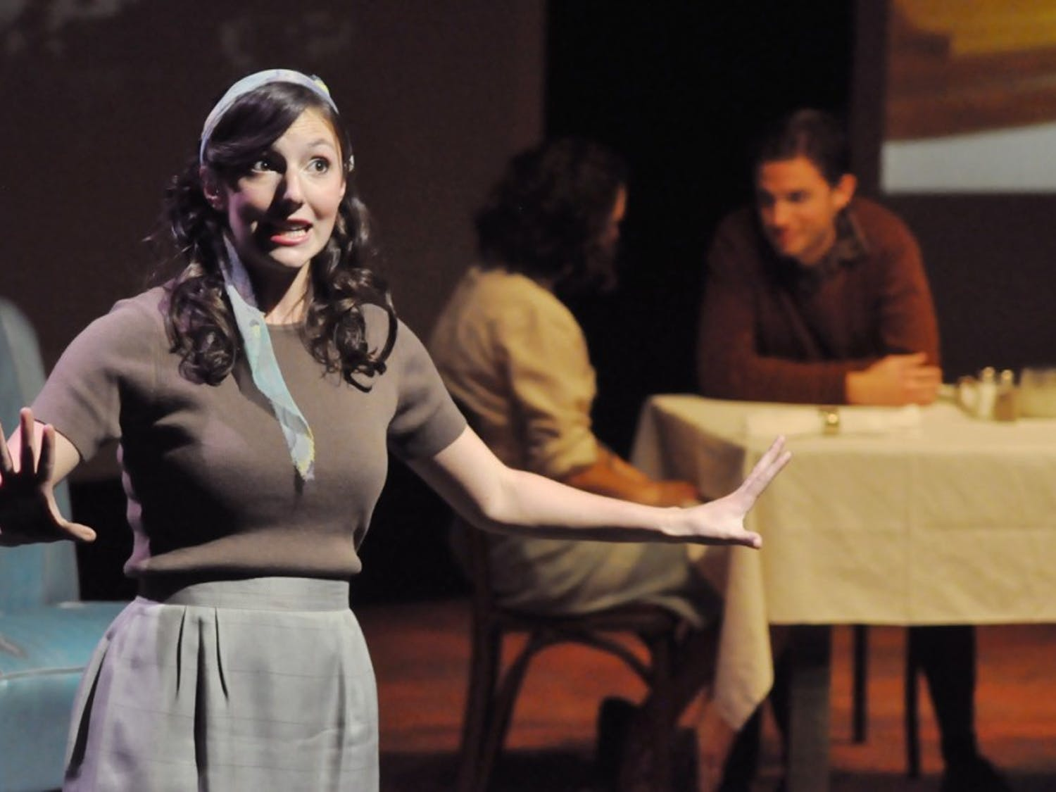 """The LAB! Theatre production of the Pulitzer Prize-winning play  """"How I Learned to Drive,"""" directed by senior Ashley Gunsteens, opens today."""