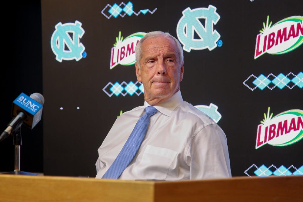 Here's what you missed at Roy Williams' press conference at UNC media day