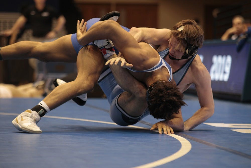 UNC wrestling beats Duke for share of first ACC title since 2002