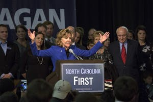 Kay Hagan's senate seat was one of many Democrats' lost during the Election. Political analysts said it's very rare for a president's party to do well during midterm elections.