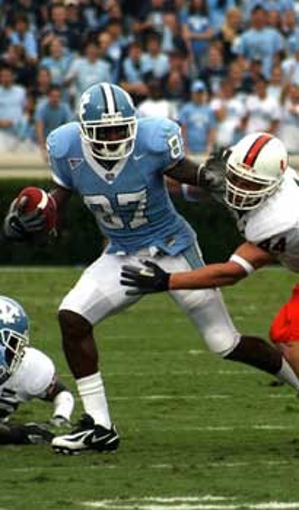 """UNC and Miami have played each other close in recent years"""" going 2-2 since the Hurricanes joined the ACC in 2003. Last year the Tar Heels ended up on top 33-27."""