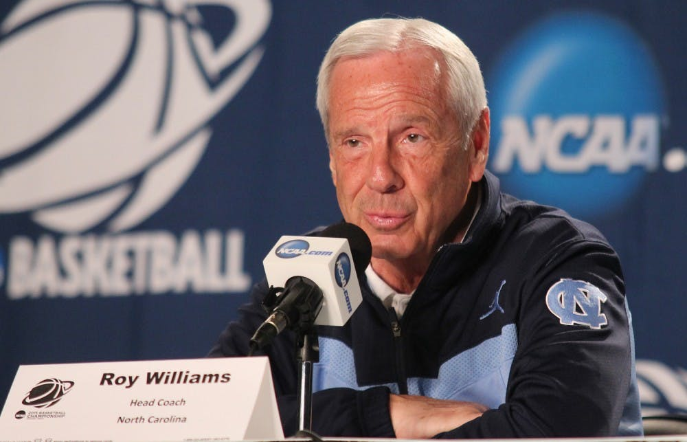 Roy Williams delivers story from UNC's 1982 title run to motivate Tar Heels against Harvard