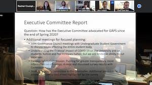 The GPSF Senate met virtually on Thursday, July 9, 2020.