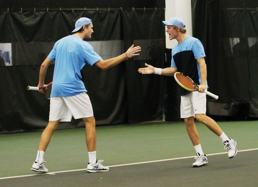 Louisville's doubles play sinks UNC